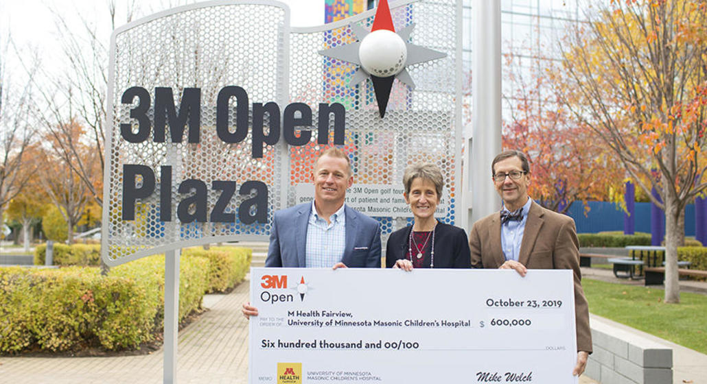 3M Open Plaza promotes healing and fun
